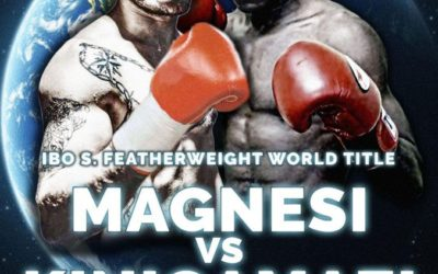 Magazine avant son Mondial IBO face à Magnesi: