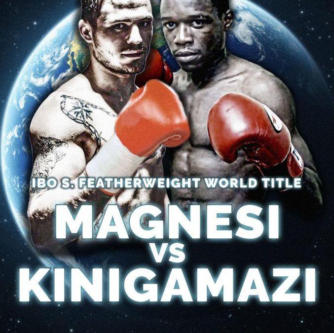 Kinigamazi échoue pour le titre mondial IBO